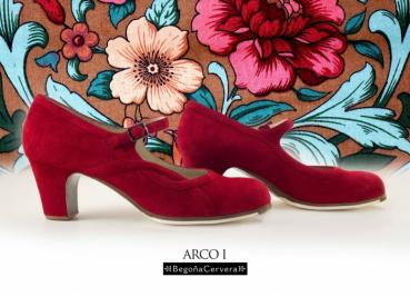 Flamencoschuhe von Begoña Cervera Model Arco I M23 Individuell
