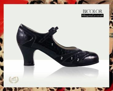 Flamencoschuhe von Begoña Cervera Model Bicolor Individuell