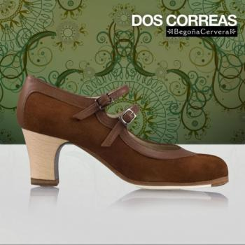 Flamencoschuhe von Begoña Cervera Model Dos Correas M49 Individuell