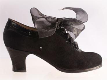 Flamencoschuhe von Begoña Cervera Model Ingles Coco M60 Individuell