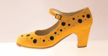 Flamencoschuhe von Begoña Cervera Model Topos M14 Individuell