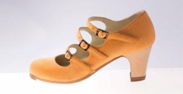 Flamencoschuhe von Begoña Cervera Model Tres Correas M08 Individuell