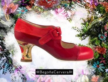 Flamencoschuhe von Begoña Cervera Model Tricolor II M38 Individuell